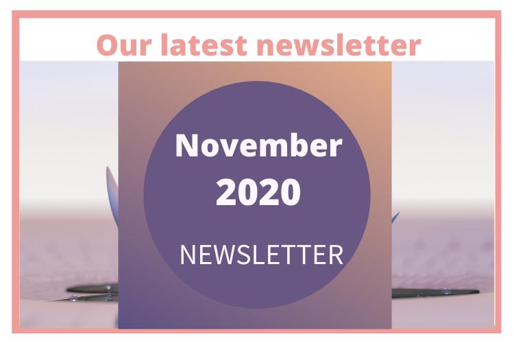 Our latest newsletter November 2020 newsletter