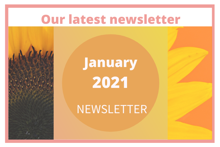 Out latest newsletter January 2021 newsletter